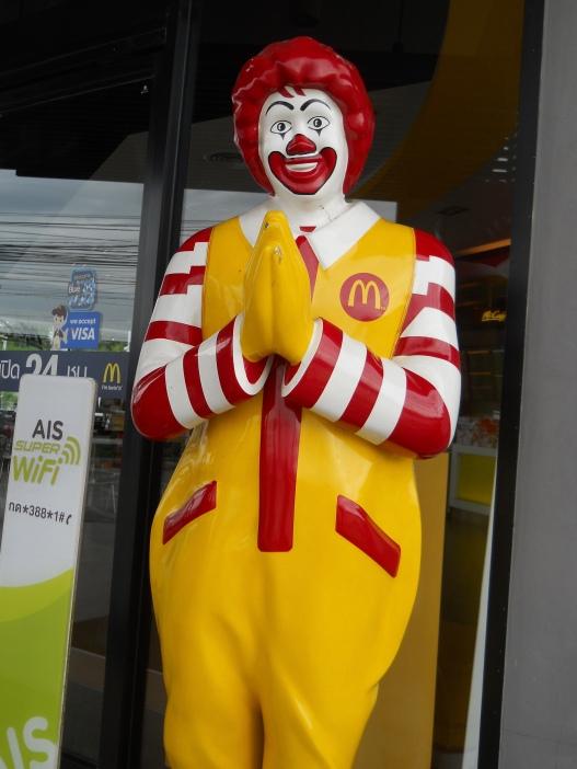 "Even Ronald can ""wai"""